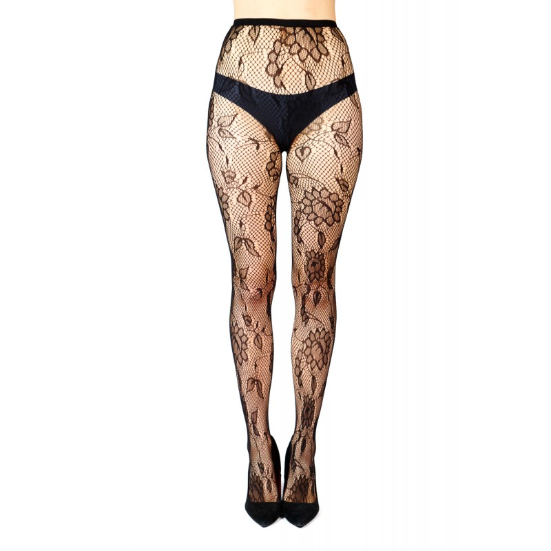 floaral fish net style tights type 2