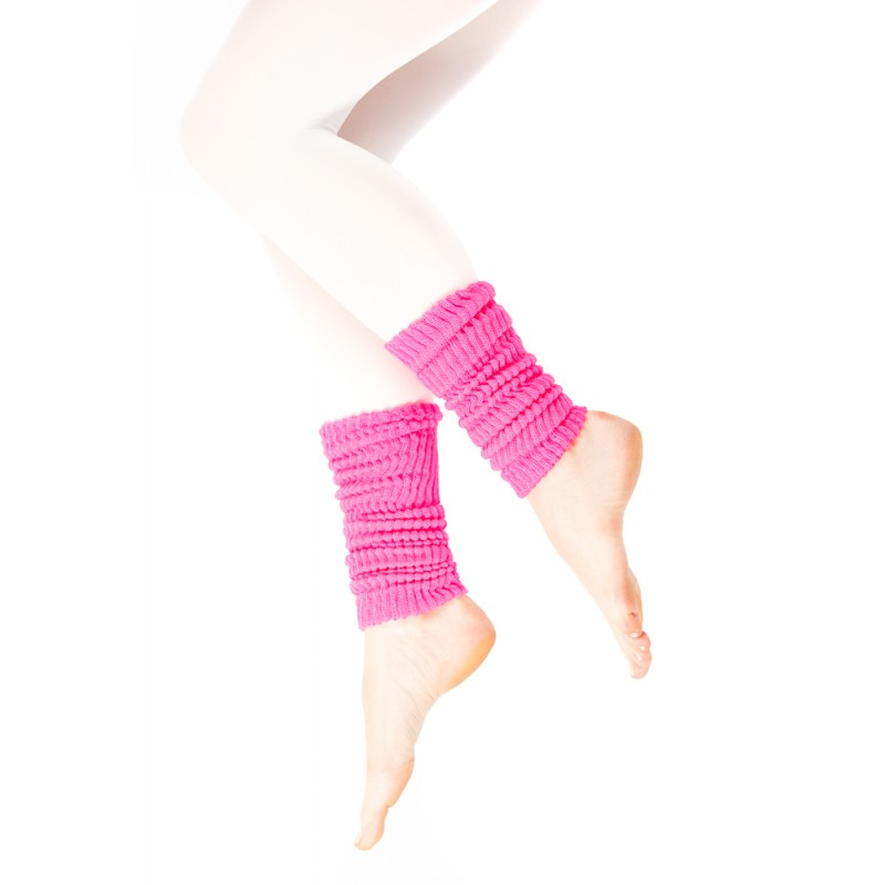 pink wool ankle warmer